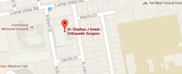 Ocean Orthopedic Surgery & Sports Medicine  Map view