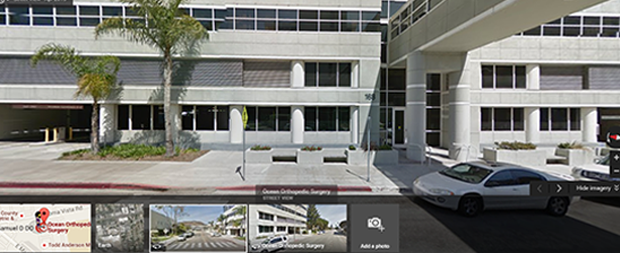 Ocean Orthopedic Surgery & Sports Medicine  Street view